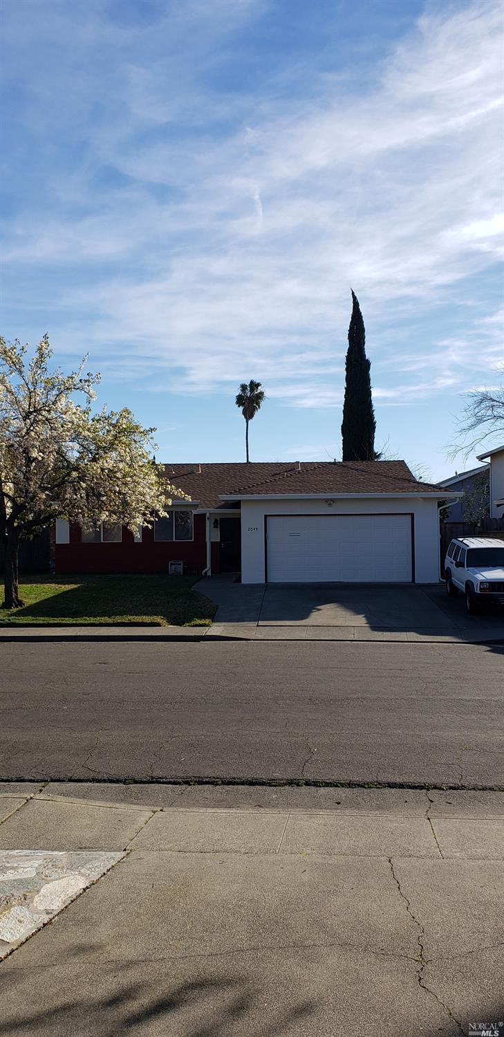 Beautiful 4 bedroom 2 bath single story in a court location. Fresh paint interior and exterior excep