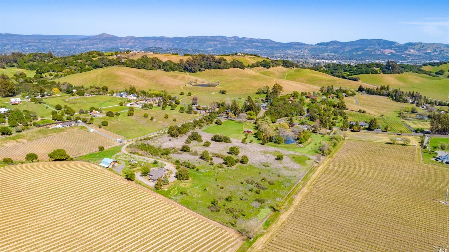 9 Acre Dream lot 10 minutes from downtown Napa Valley. Amazing opportunity to build your Dream Home