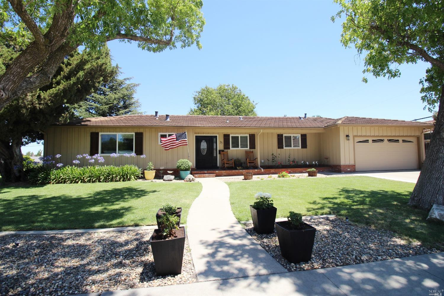 Must see pristine ranch style house located in Rio Vista's most desirable neighborhood just one stre