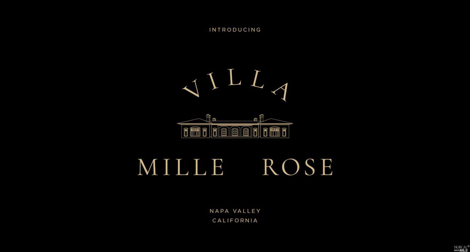 Without question Villa Mille Rose is one of the most magnificent and grandest estates located in Napa Valley's world famous Oakville AVA appellation - home to iconic wines brands such as Opus One and Screaming Eagle. This ultra private 19+ acre compound includes vineyards, 350 olive orchards producing premium gold medal olive oil, and vegetable gardens offering farm-to-table country living at its finest! Same owner for 35+ years. Centrally located in a FIRE FREE ZONE in the heart of the valley - only a 1 hr 20 min drive from San Francisco. Visit www.7888moneyrd.com for more information.