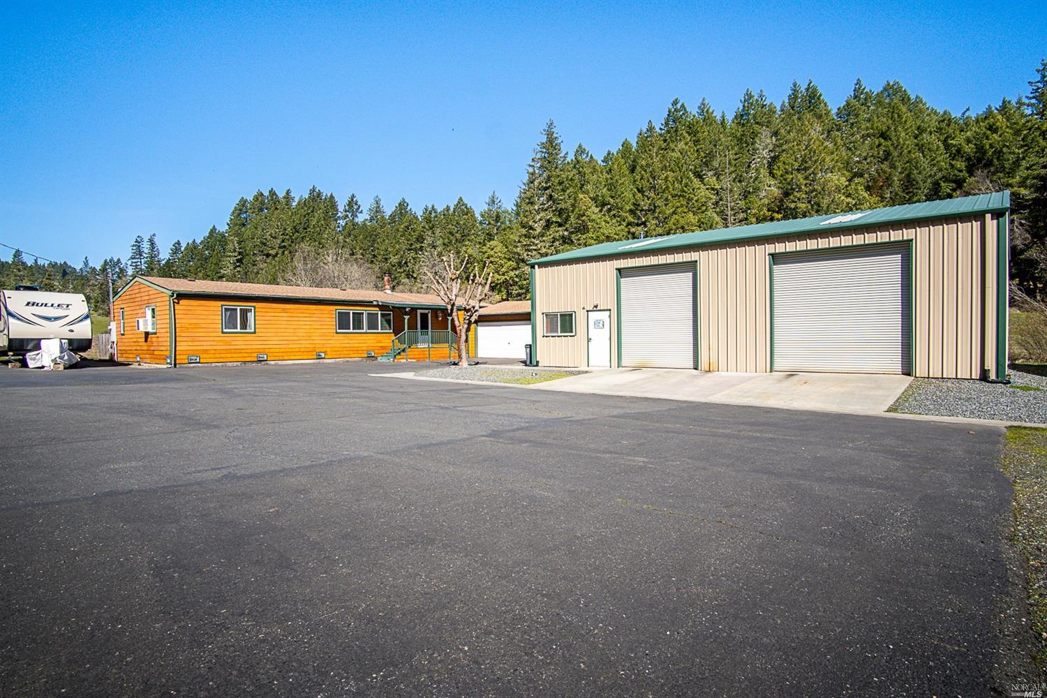 25254 Madrone Drive, Willits, CA 95490