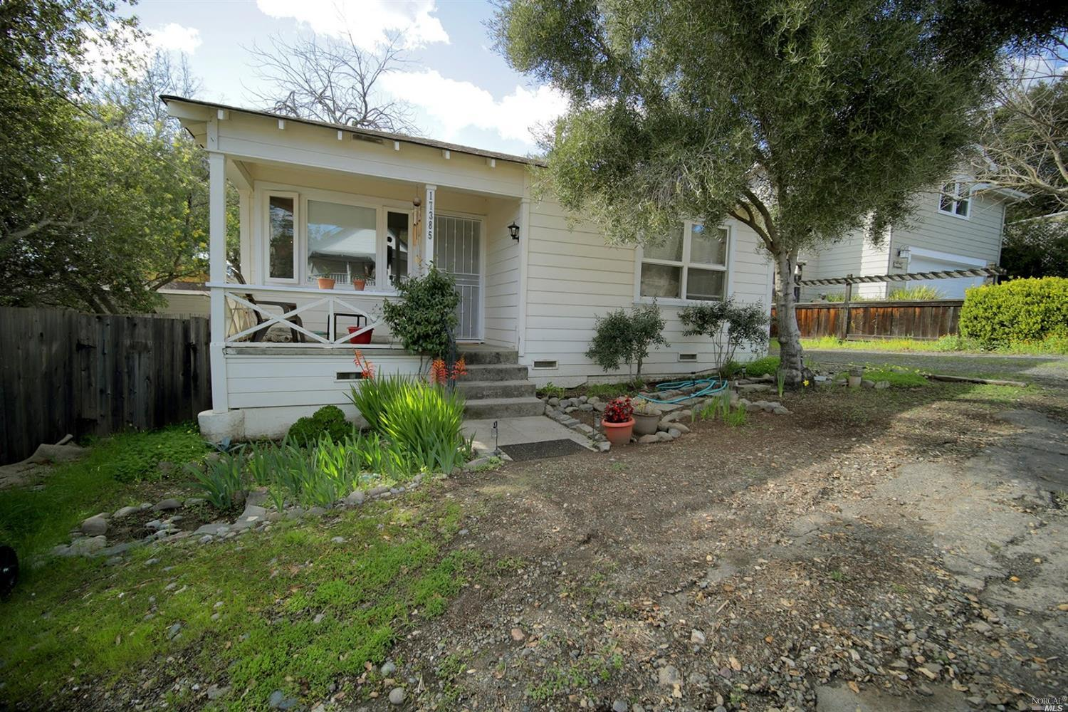 Two houses on one lot!  Tenant occupied with long term tenants who would like to stay.  Each house is a 1 bedroom, 1 bathroom.  Mountain house could be turned into two bedroom with easy remodel.