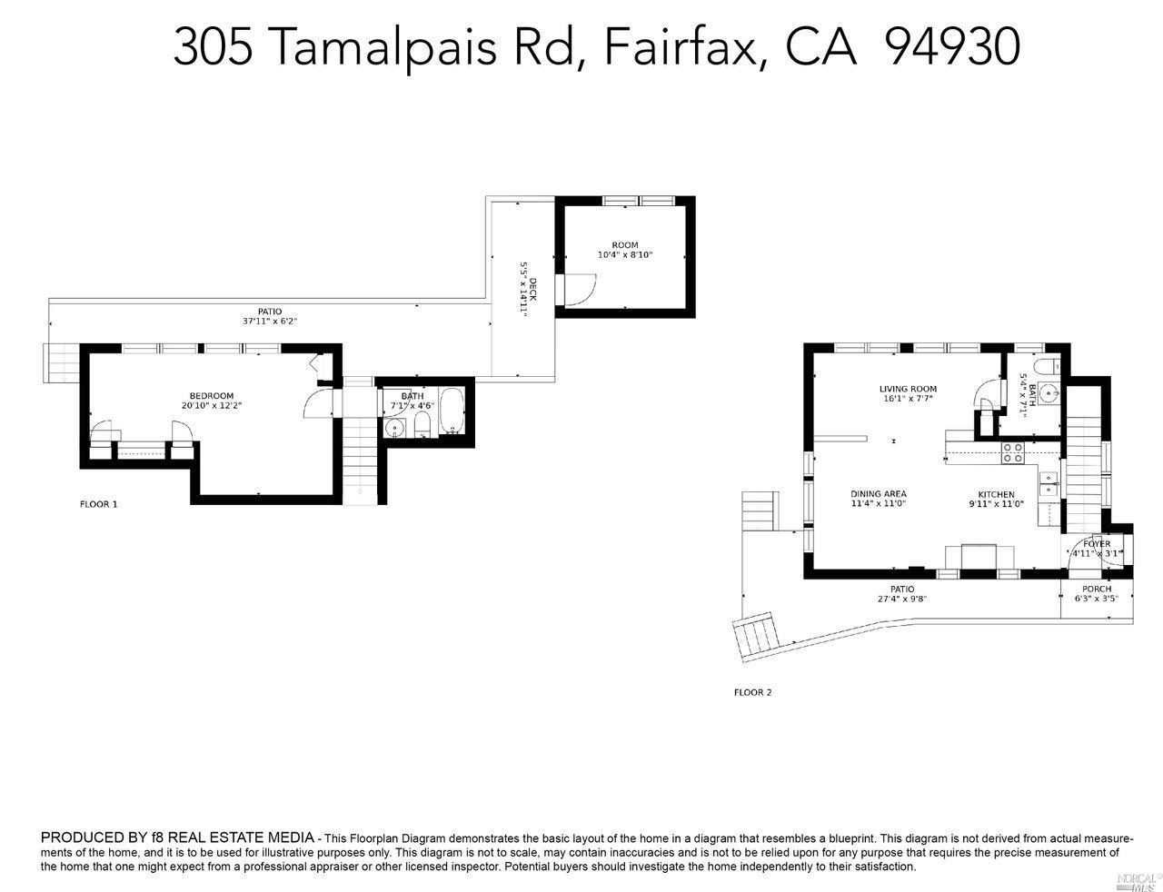 Listing 321027950 : 305  Tamalpais Road, Fairfax, CA, 94930  (photo 32)