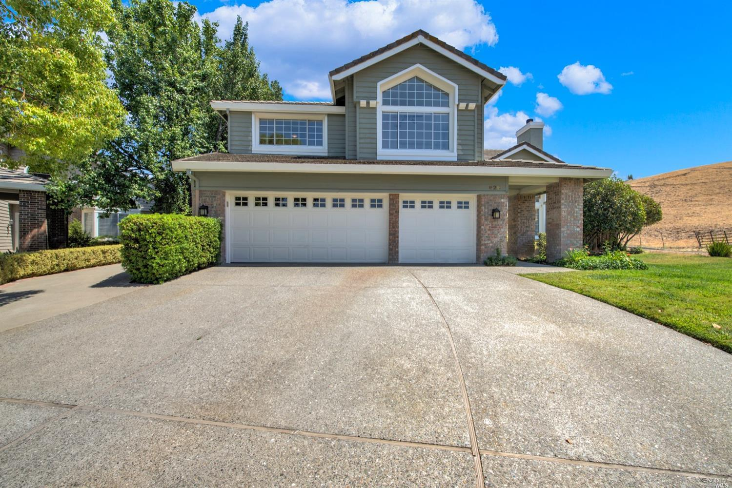 A must see spacious and incredibly beautiful 5-bedroom, 3-bath, two story home nestled in a secluded