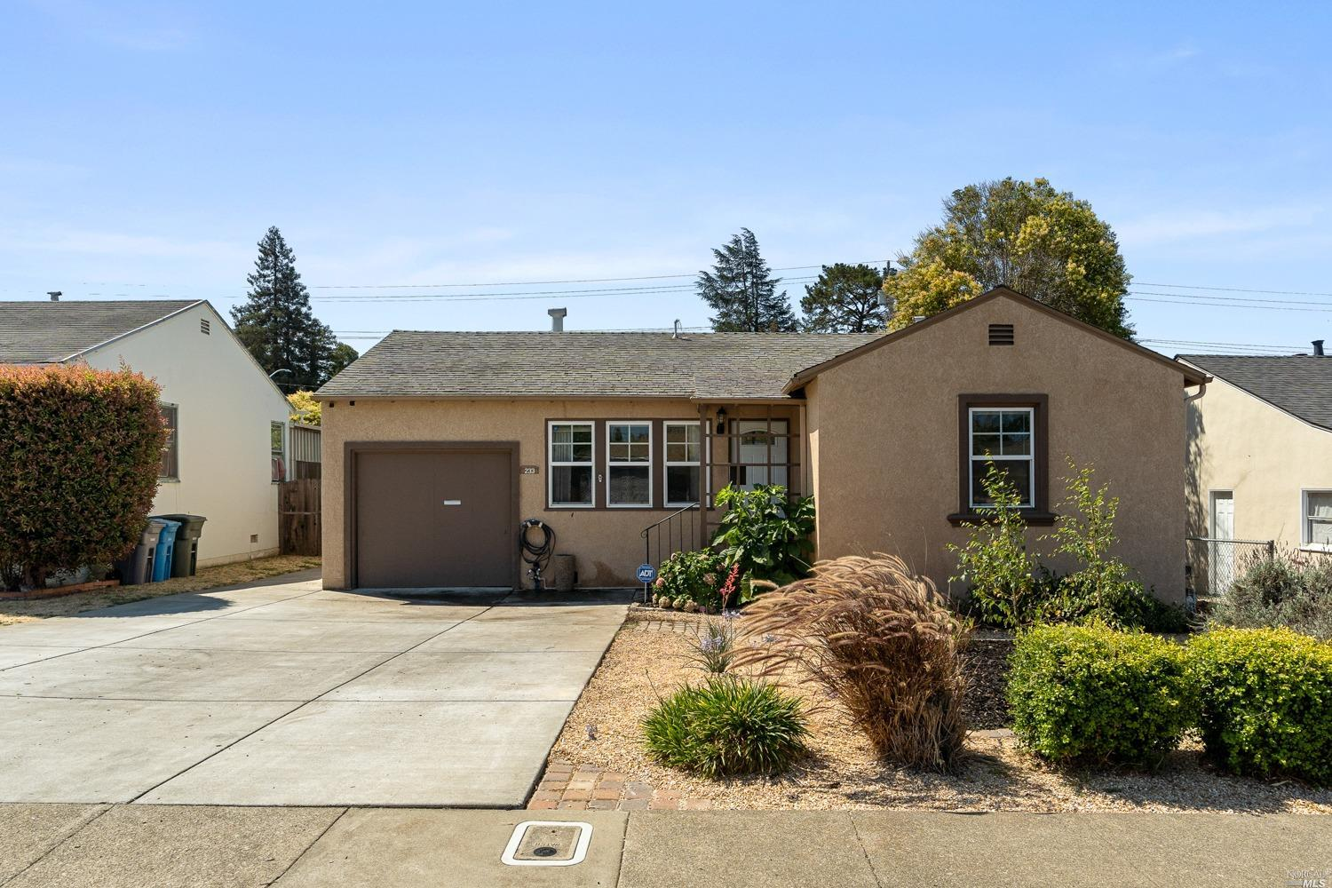 Cute cottage on a large lot. Kitchen has been remodeled and newer flooring installed. Bathroom remod