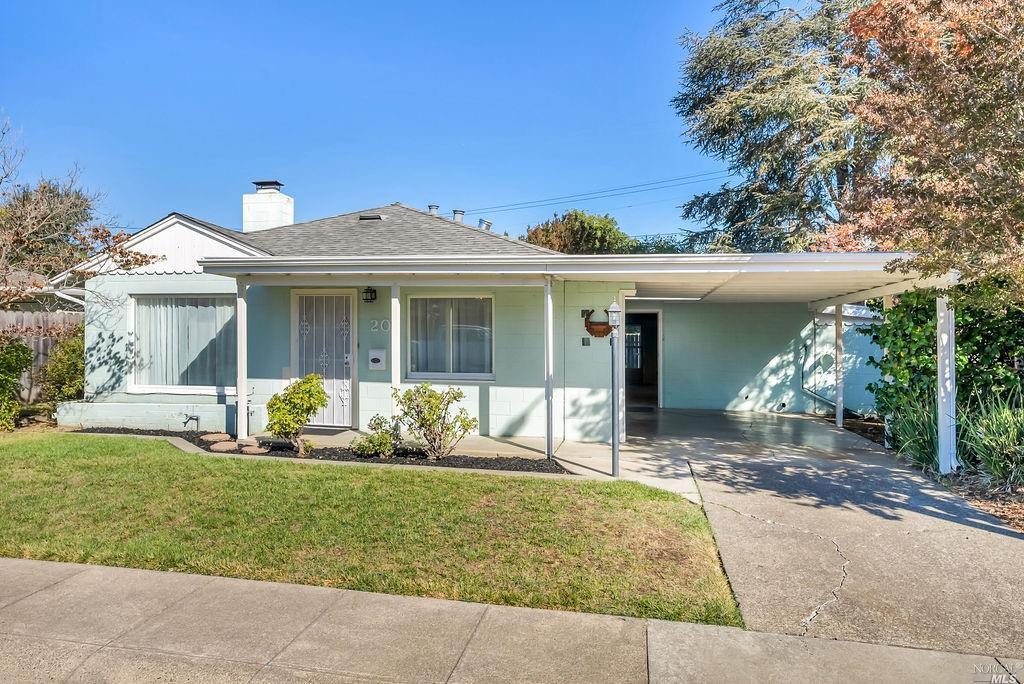 20 Glenwood Drive, Napa CA 94559