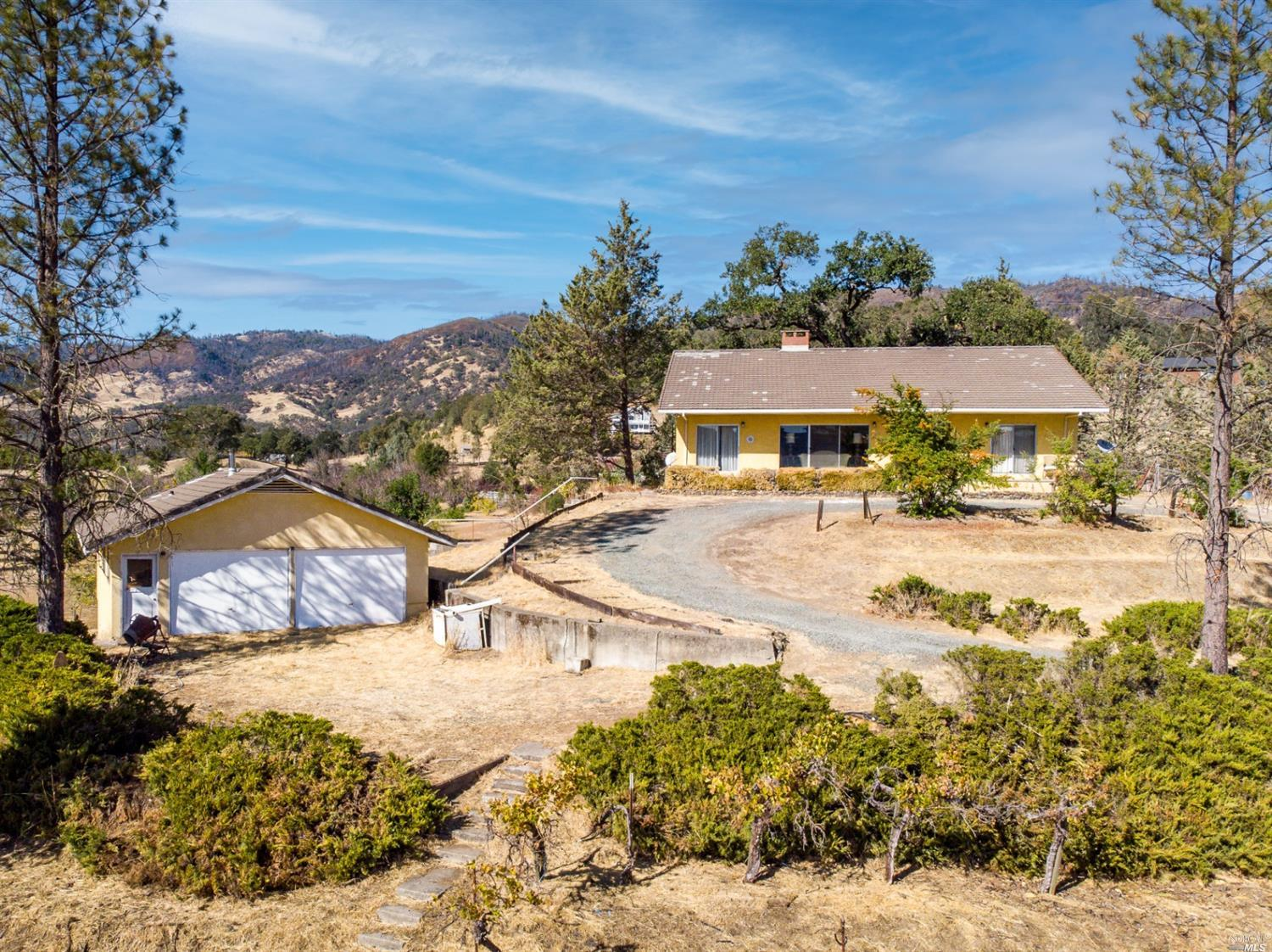 10755 Bachelor Valley Road, Witter Springs, CA 95493