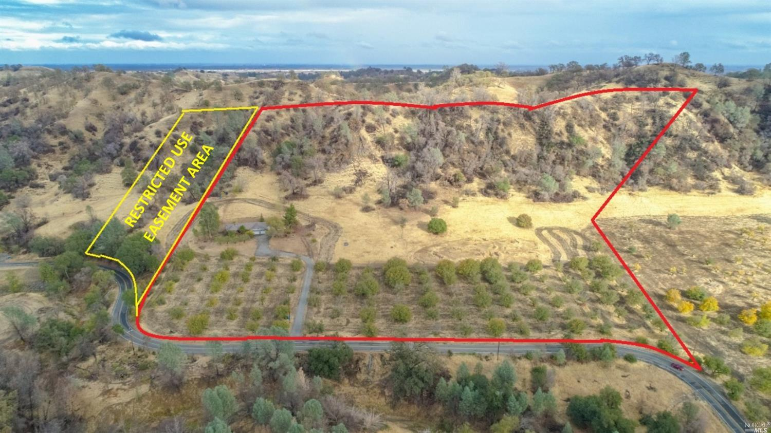 2269 square foot, 4 bedroom, single story home tucked on a peaceful 22 acres. The land has a lot of